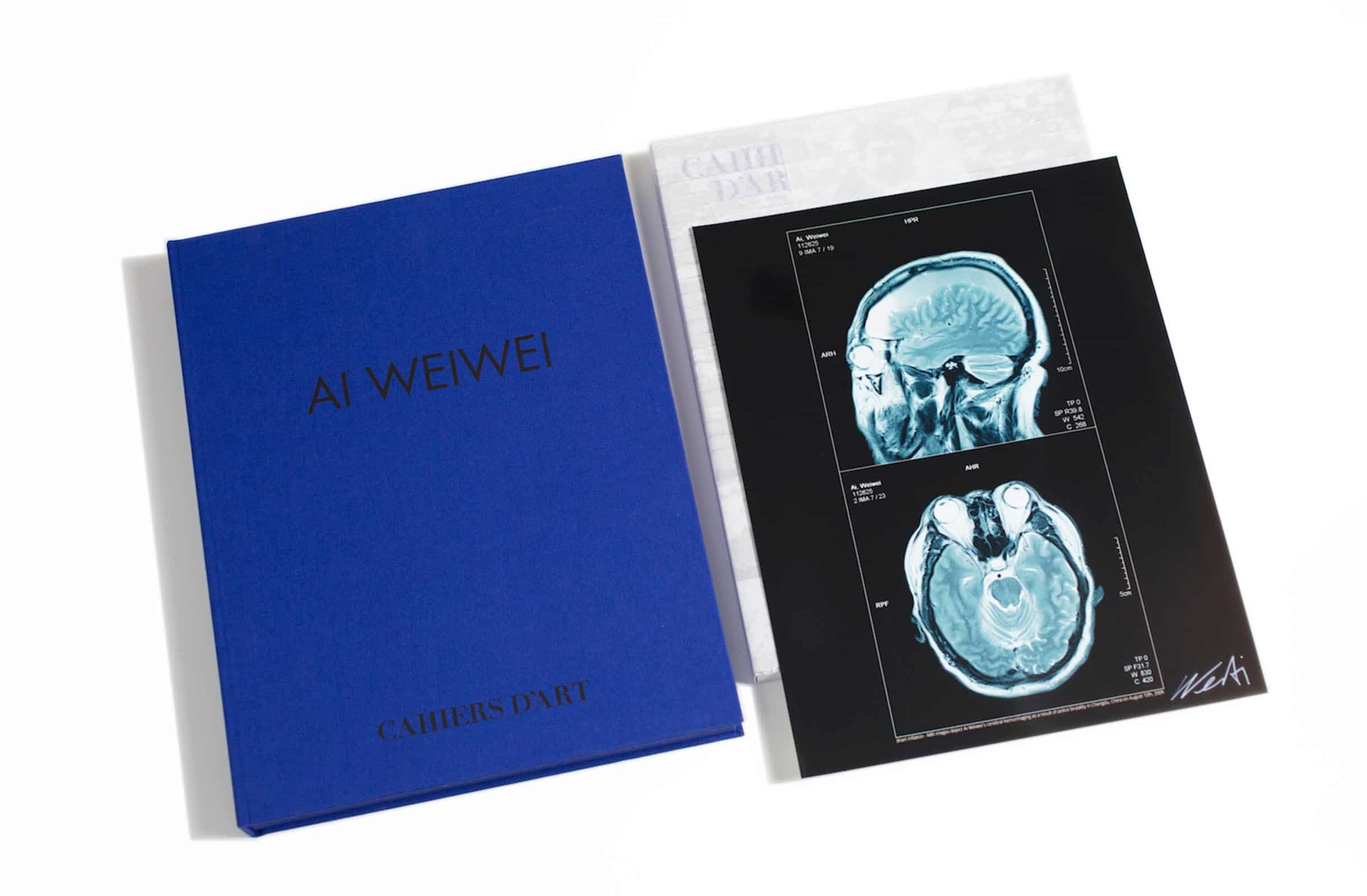 Signed//Limited Editon Of 200 Artist's Book Ai Weiwei Humanity